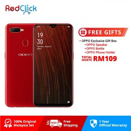 OPPO A5s / CPH1909 (3GB/32GB) Original Malaysia OPPO Set + Free Gift Worth RM109