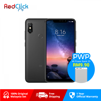 Xiaomi Redmi Note 6 Pro (3GB/32GB) Original Xiaomi Malaysia Set
