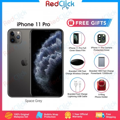 Apple iPhone 11 Pro (64GB/256GB/512GB) Original Apple Malaysia Set + 6 Free Gift Worth RM199