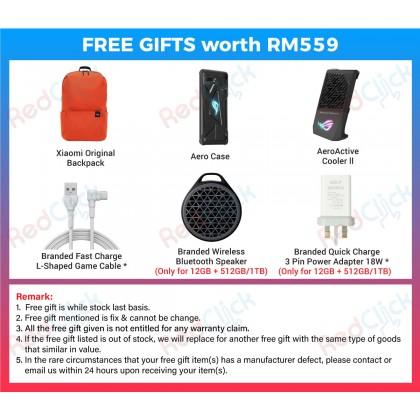 Asus ROG Phone 2 (8GB/128GB)(12GB/512GB/1TB) Original Asus Malaysia Set + 6 Free Gift Worth RM559