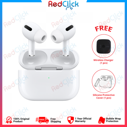 Apple Original AirPods Pro 1 Year Warranty by Apple Malaysia + Free Gift