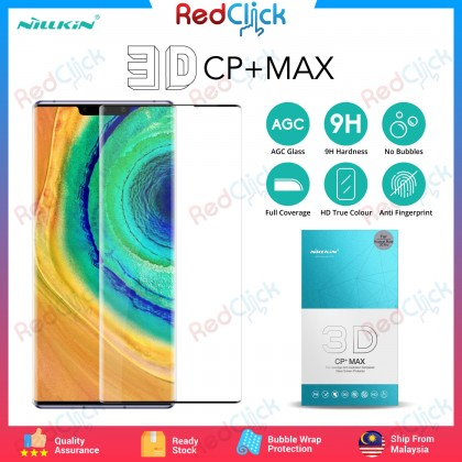 Nillkin Huawei Mate 30 Pro 3D CP+ Max Full Coverage Screen Tempered Glass - Anti-Explosion
