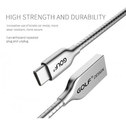 Golf Original GC33 Fast Charging Ambilight Kirsite Type-C USB Cable