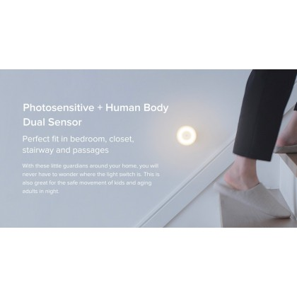 Xiaomi Mi Motion Activated Night Light 2 Human Motion Detect Plug and Play
