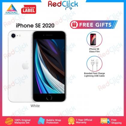 Apple iPhone SE 2020 (64GB/128GB/256GB) Original Apple Malaysia Set + 2 Free Gift Worth RM49