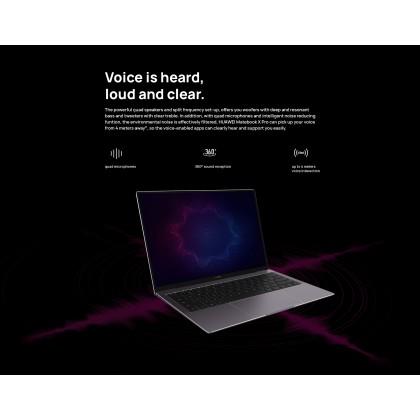 Huawei MateBook X Pro/MACHC-WAE9LP (i7 10th Gen/16GB RAM/1TB SSD/Mx 250 Graphic/Touch Screen) Original Huawei Malaysia Set + 4 Free Gift Worth RM1399