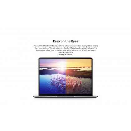 Huawei MateBook 13 i5/i7/WRTB-WFH9L (10th Gen/16GB RAM/512GB SSD/MX 250 Graphic/Touch Screen) Original Huawei Malaysia Set + 3 Free Gift Worth RM399