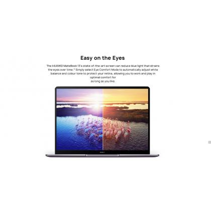 Huawei MateBook 13 R5/HN-W19R (R5 Processor/16GB RAM/512GB SSD/ Vega 8 Graphic) Original Huawei Malaysia Set + 3 Free Gift Worth RM399