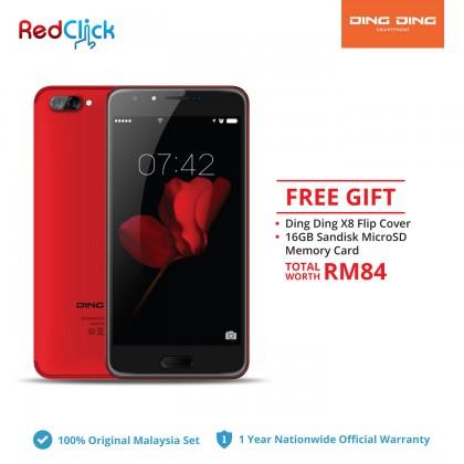 Ding Ding X8 (2GB/16GB) Original DingDing Malaysia Set + 2 Free Gift Worth RM 84