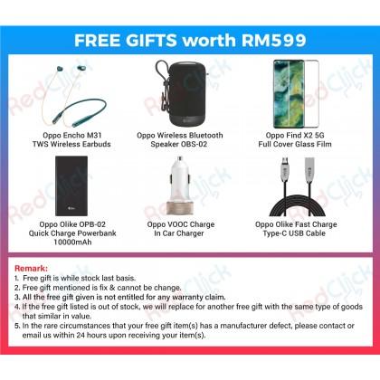 OPPO Find X2 5G (12GB/256GB) Original OPPO Malaysia Set + 6 Free Gift Worth RM599