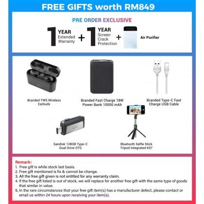 VIVO X50 Pro 5G /2006 (8GB/256GB) Original VIVO Malaysia Set + 8 Free Gift Worth RM849