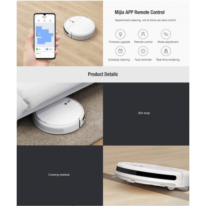 Xiaomi Mi Robot Vacuum-Mop 1C /STYTJ01ZHM Global Version All-in-One Robotic Vacuum-Mop + Free Gift