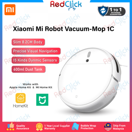 Xiaomi Mi Robot Vacuum-Mop 1C /STYTJ01ZHM Global Version All-in-One Robotic Vacuum-Mop