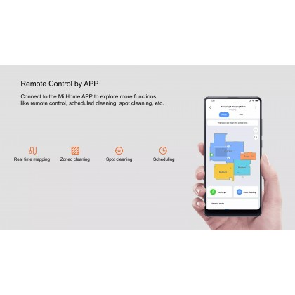 Xiaomi Mi Robot Vacuum-Mop Pro /STYTJ02YM Global Version Laser Smart Navigation All-in-one Robotic + Free Gift