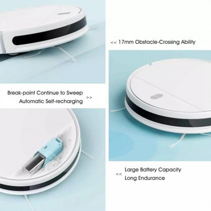 Xiaomi Mi Robot Vacuum Mop Essential G1 (white)/MJSTG1 2200Pa Powerful Suction Mi Home App Smart Control All-In-One Cleaner + Free Gift