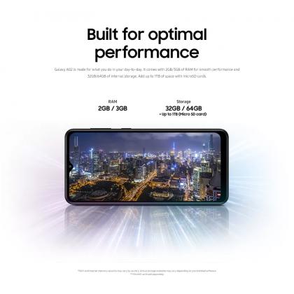 Samsung Galaxy A02 (3GB/32GB) Original Samsung Malaysia Set + 4 Free Gift Worth RM99