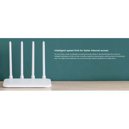 Xiaomi Mi Router 4C /R4CM 4 Antennas up to 300Mbps High Speed WIFI Router Global Version Original Xiaomi Product