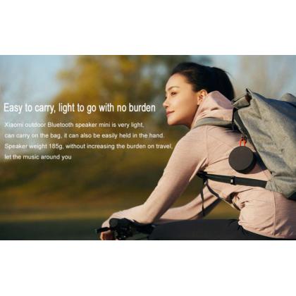 Xiaomi Mi Portable Bluetooth Speaker /XMYX04WM Bluetooth 5.0 True Wireless Stereo Long Lasting Battery Life Waterproof Speaker Original Xiaomi Product