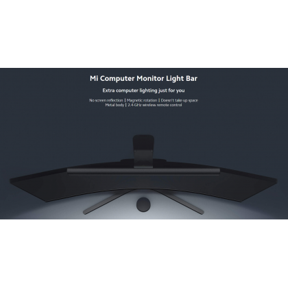 Xiaomi Mi Computer Monitor Light Bar Wireless Control High Ra95 Color Rendering Adjustable Brightness and Color Temperature Magnetic Rotation System Original Xiaomi Product