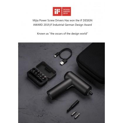 Xiaomi Mi Electric Screwdrivers 3.6V 12pcs S2 Steel Screw Bits Large Battery Portable Screwdriver