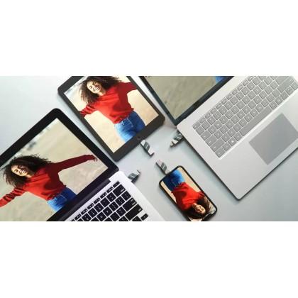 Sandisk iXpand Flip 32GB/64GB/128GB/256GB Lightning USB 3.1 Flash Drive
