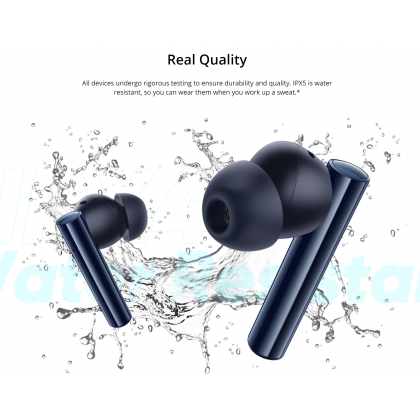 Realme Buds Air 2 Active Noise Cancellation 25 Hours Playback 88ms Super Low Latency Earbuds