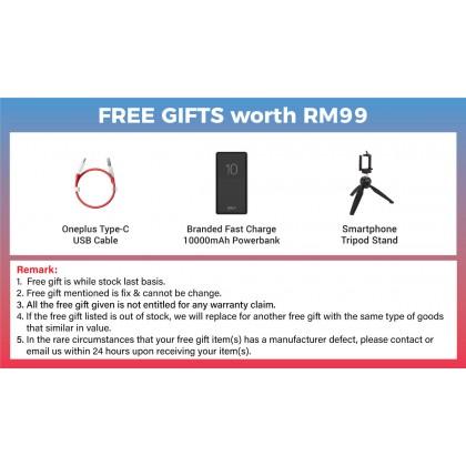 Oneplus Nord N10 5G (6GB/128GB) Original OnePlus Malaysia Set + 3 Free Gift Worth RM99