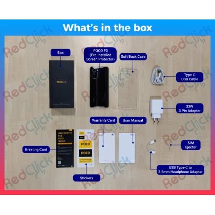 Xiaomi Poco F3 (6GB/128GB) Original Xiaomi Malaysia Set + 5 Free Gift Worth RM149