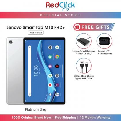 Lenovo Smart Tab M10 FHD Plus /tb-x606x (4GB/64GB) Original Lenovo Malaysia Set + 3 Free Gift Worth RM399