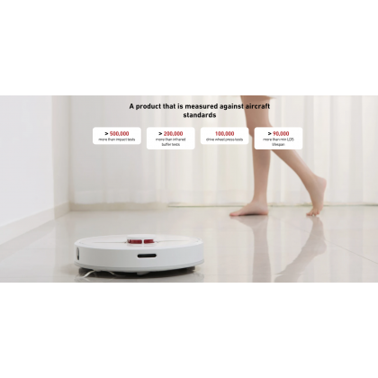 Xiaomi Dreame D9 SLAM Smart Algorithm 3000Pa Suction Power Anti Bacterial Mop Cloth 150 Minutes Ultra Long Battery Life Original Xiaomi Product + Free Gift Worth RM39
