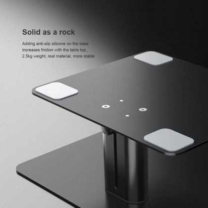 Nillkin HighDesk Adjustable Monitor Stand Flexible Height Angle Space Free Design Suitable Multi Different Type Monitor