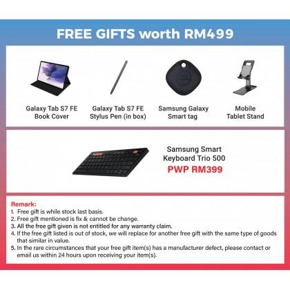 Samsung Galaxy Tab S7 FE WIFI (6GB/128GB) (4GB/64GB) Original Samsung Malaysia Set + 4 Free Gift Worth RM499